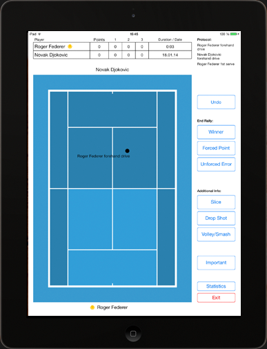 Tennis Analyzer App